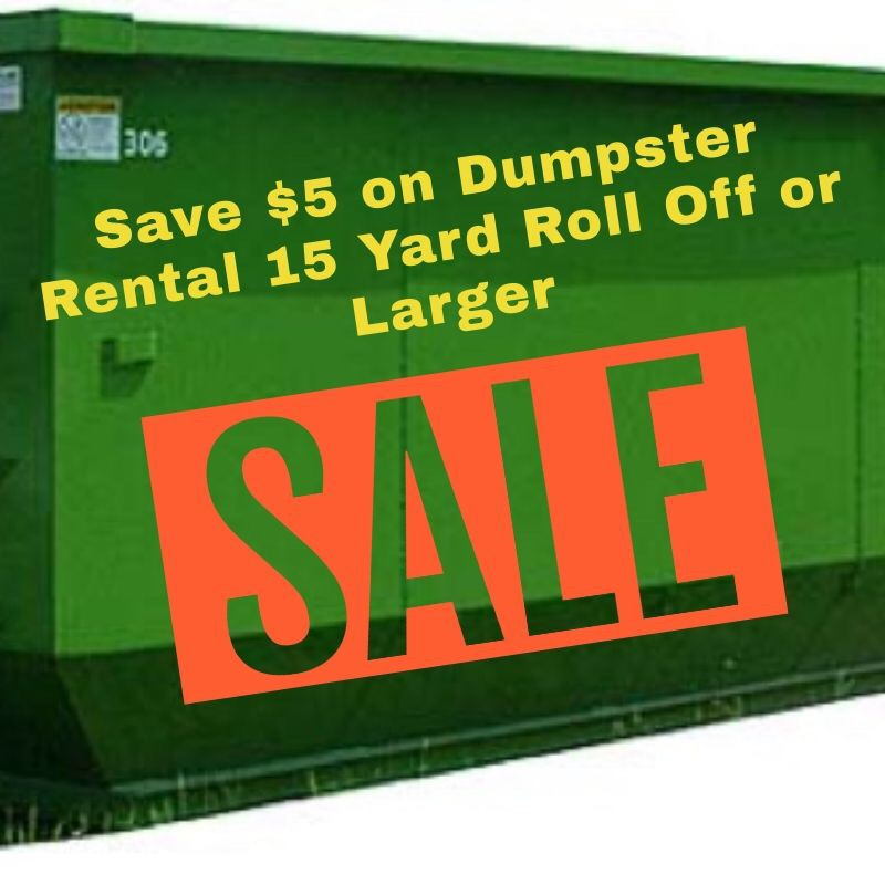 Save on roll off dumpster rental - express